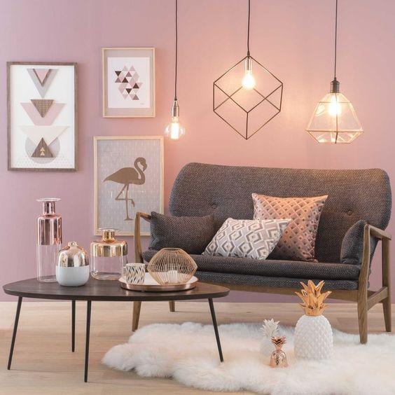 Colores para decorar salas 2019 tendencias en color para - Colores de pinturas para salones ...