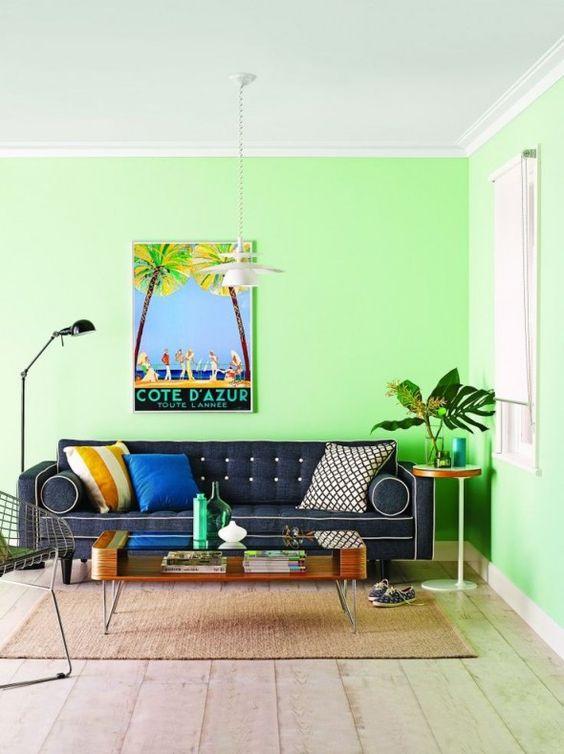 Colores para decorar salas 2019 tendencias en color para for Colores para pintar una sala pequena