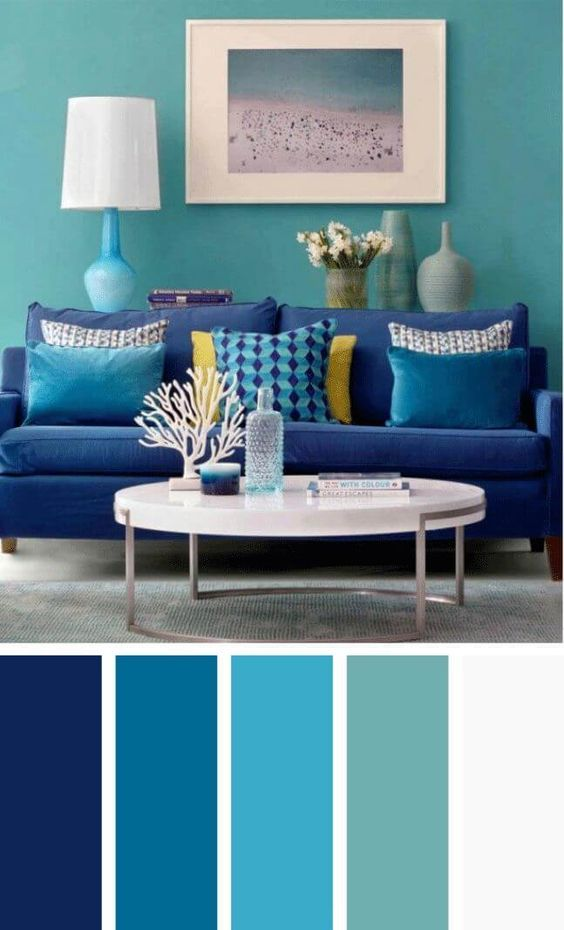 Colores para decorar salas 2019