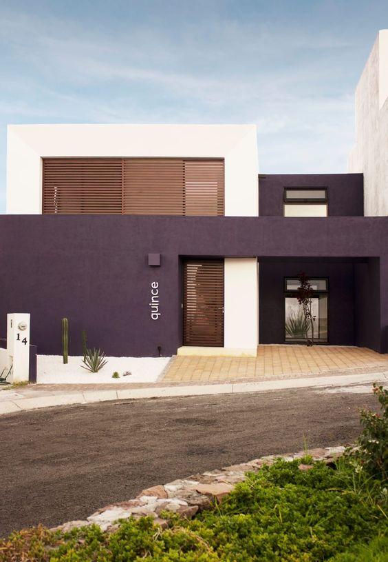 Colores para exteriores y fachadas modernas 2018 for Fachadas modernas para oficinas