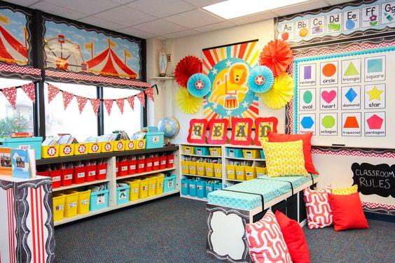 como decorar un salon de clases de preescolar