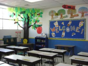 como decorar un salon de clases de primaria