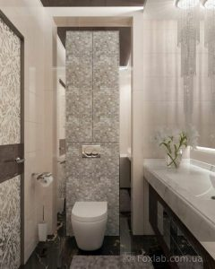 diseño arquitectonico de un medio baño