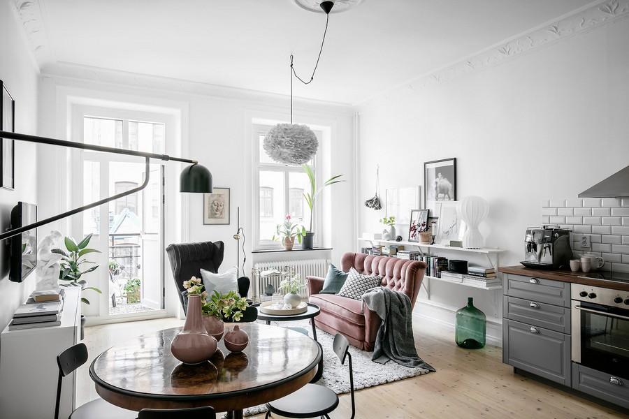 espacios abiertos en casas pequeñas