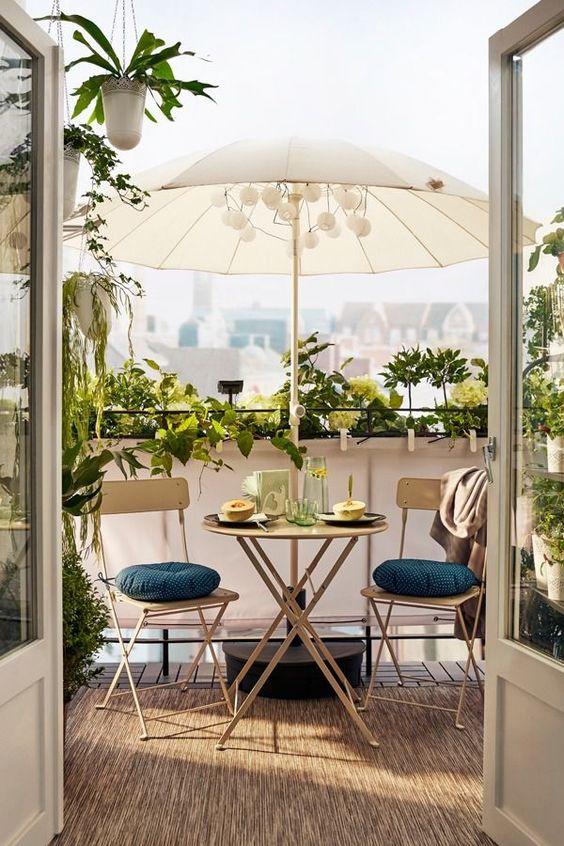 Sombrillas para jardín