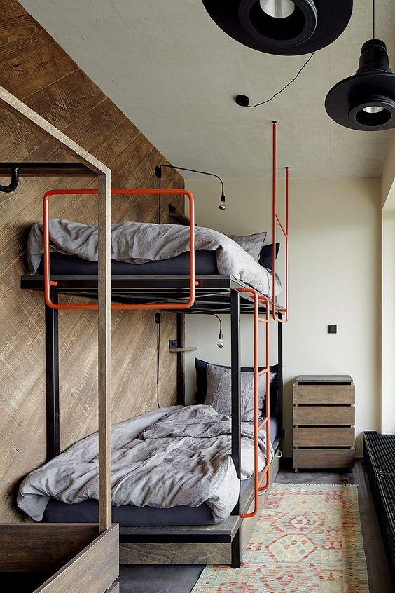 Habitaciones para chicos compartidas