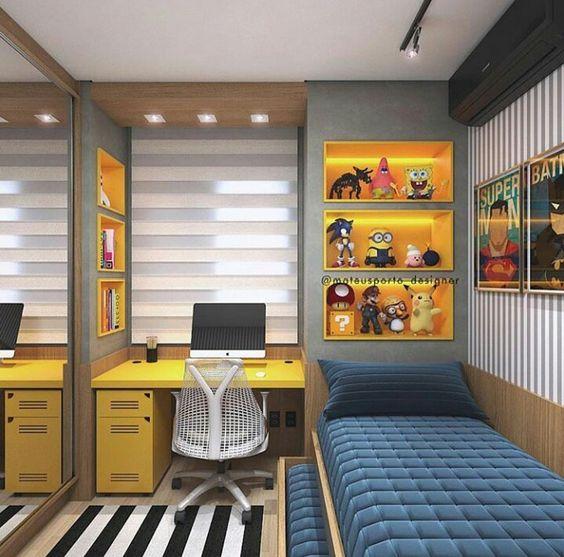 Habitaciones para chicos modernas