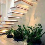 jardines interiores en casas modernas