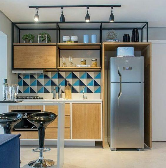 12 Cocinas pequeñas con mucho estilo que te inspiraran