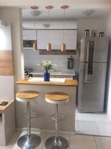 decoracion de cocina pequeña minimalista